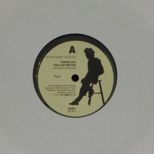 "Howard Jones<br>Things Can Only Get Better<br>7"" single"