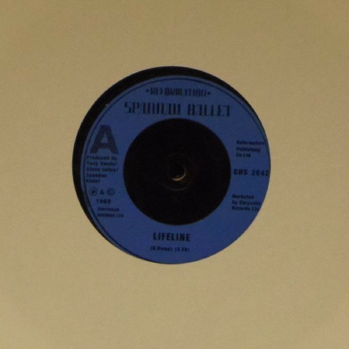 "Spandau Ballet<br>Lifeline<br>7"" single"
