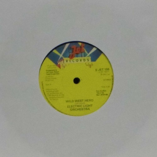 "Electric Light Orchestra<br>Wild West Hero<br>7"" single"