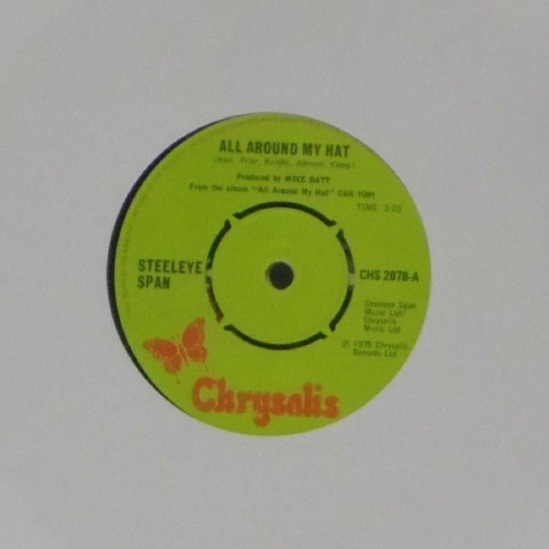 "Steeleye Span<br>All Around My Hat<br>7"" single"