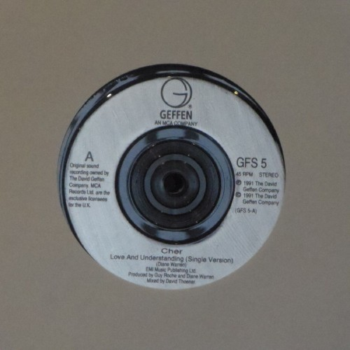 "Cher<br>Love And Understanding<br>7"" single"