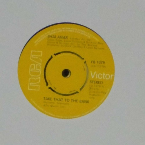 "Shalamar<br>Take That To The Bank<br>7"" single"