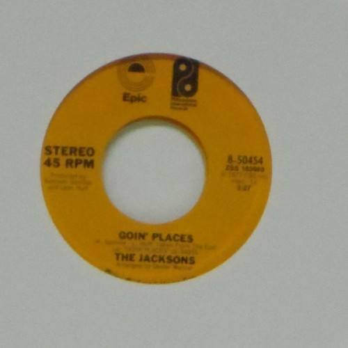 "The Jacksons<br>Goin' Places<br>7"" single"