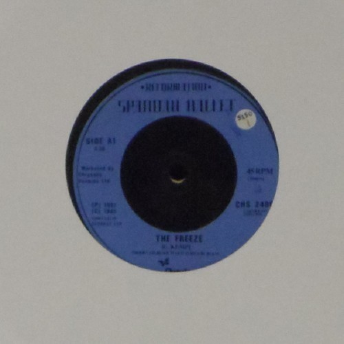 "Spandau Ballet<br>The Freeze<br>7"" single"