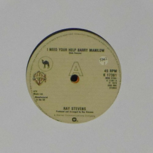 "Ray Stevens<br>I Need Your Help Barry Manilow<br>7"" single"