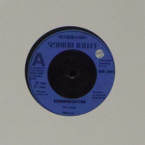 "Spandau Ballet<br>Communication<br>7"" single"