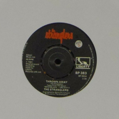 "The Stranglers<br>Thrown Away<br>7"" single"