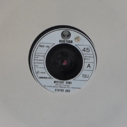 "Status Quo<br>Mystery Song<br>7"" single"