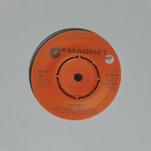 "Chris Rea<br>Diamonds<br>7"" single"
