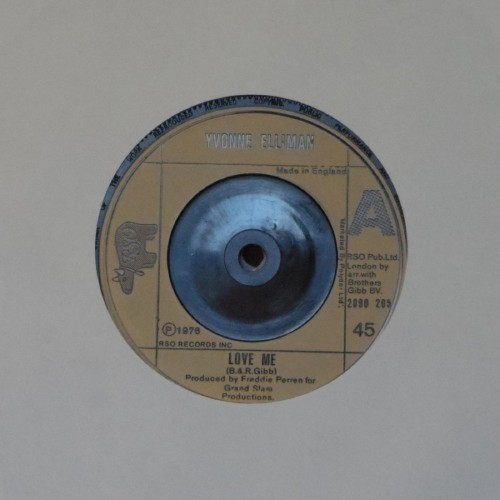 "Yvonne Elliman<br>Love Me<br>7"" single"