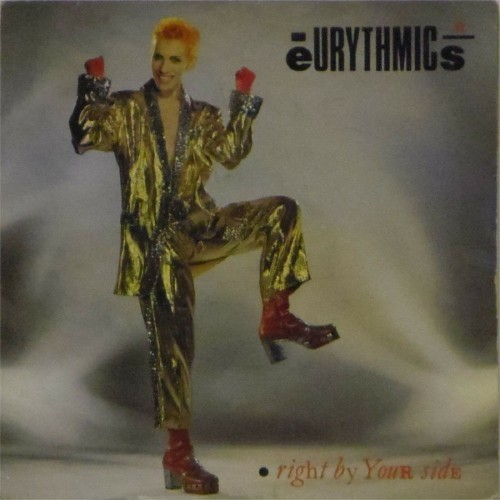 "Eurythmics<br>Right By Your Side<br>7"" single"