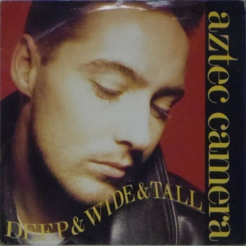 "Aztec Camera<br>Deep & Wide & Tall<br>7"" single"