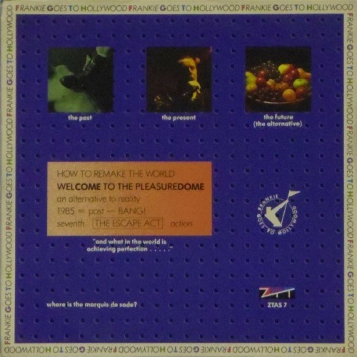 "Frankie Goes To Hollywood<br>Welcome To The Pleasuredome<br>7"" single"