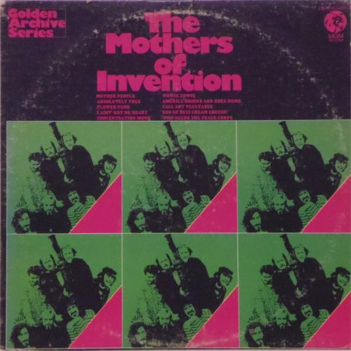 Frank Zappa<br>The Mothers of Invention<br>LP