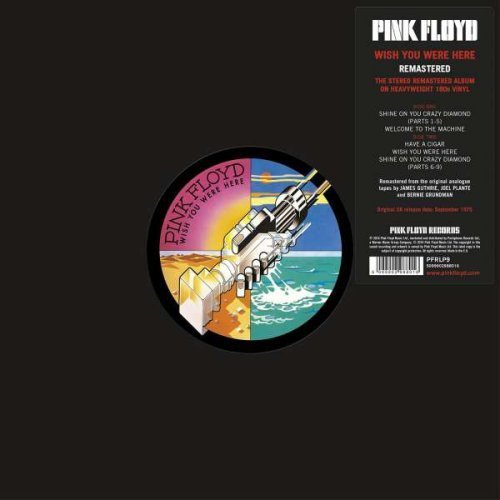 Pink Floyd<br>Wish You Were Here<br>(New 180 gram re-issue)<br>LP