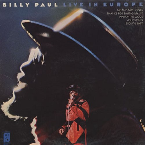 Billy Paul<br>Live In Europe<br>LP