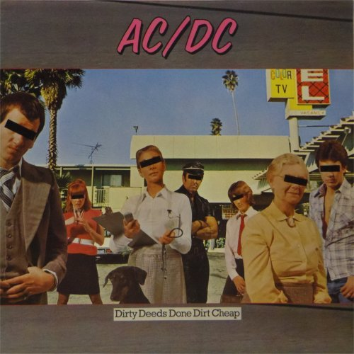 AC/DC<br>Dirty Deeds Done Cheap<br>LP (GERMAN pressing)