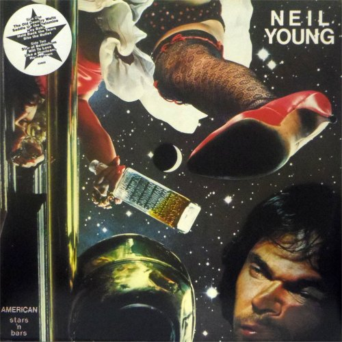 Neil Young<br>American Stars 'n' Bars<br>LP (UK pressing)