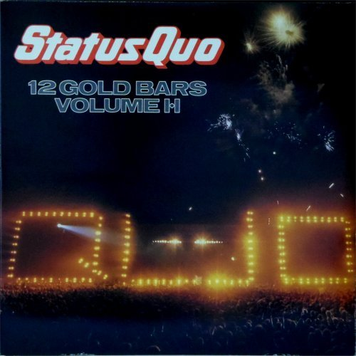 Status Quo<br>12 Gold Bars I + II<br>Double LP (UK pressing)