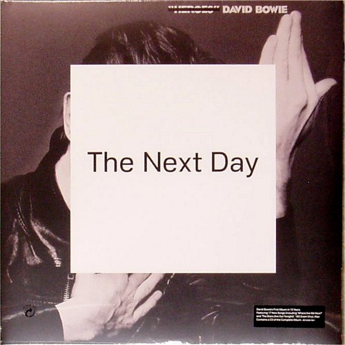 David Bowie<BR>The Next Day<br>Double LP plus CD