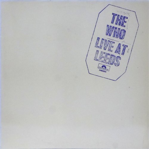 The Who<br>Live At Leeds<br>LP (GERMAN pressing)