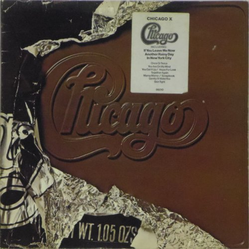 Chicago<BR>Chicago X<br>LP