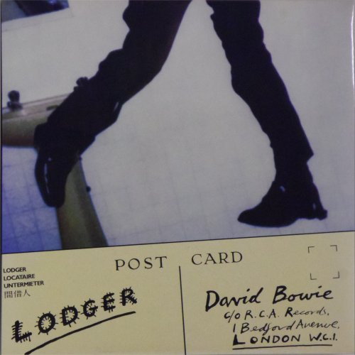 David Bowie<br>Lodger<br>LP