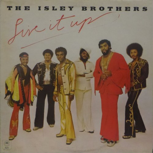 The Isley Brothers<br>Live It Up<br>LP (UK pressing)