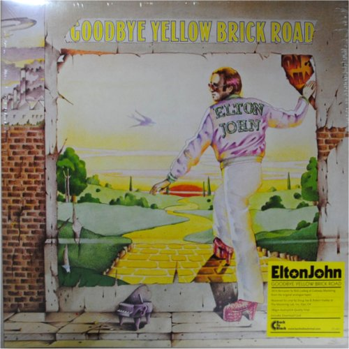 Elton John<br>Goodbye Yellow Brick Road<br>(New 180 gram re-issue)<br>Double LP