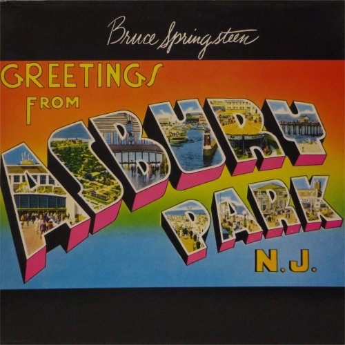 Bruce Springsteen<br>Greetings From Asbury Park, NJ<br>LP (UK pressing)