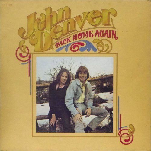 John Denver<br>Back Home Again<br>LP