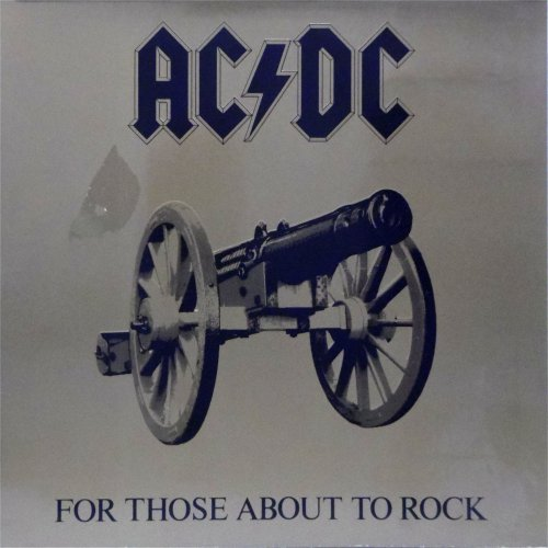 AC/DC<br>For Those About To Rock<br>LP (GERMAN pressing)