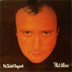 Phil Collins<BR>No Jacket Required<br>LP