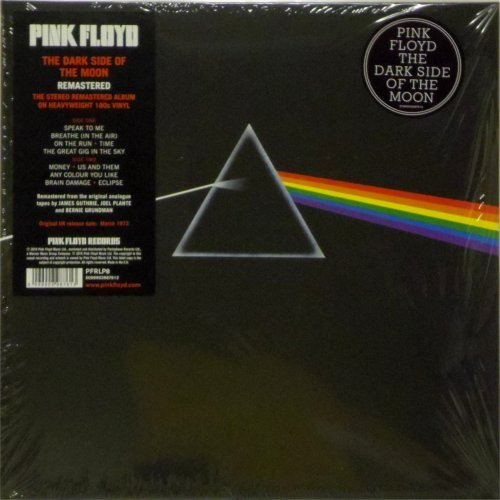 Pink Floyd<br>Dark Side of The Moon<br>(New 180 gram re-issue)<br>LP