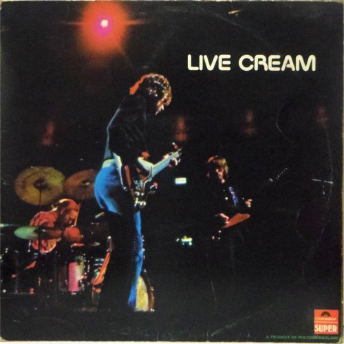 Cream<br>Live Cream<br>LP (UK pressing)