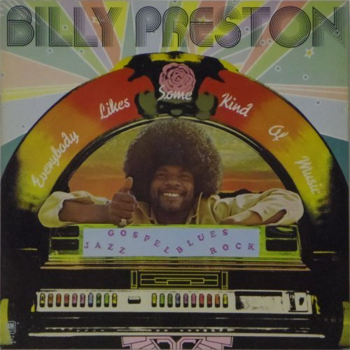 Billy Preston<br>Everybody Likes Some Kind of Music<br>LP
