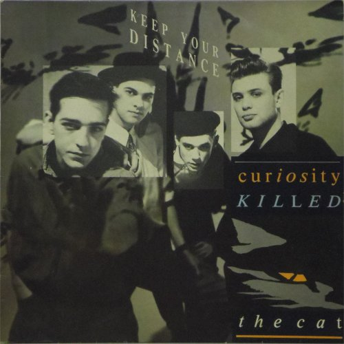 Curiosity Killed The Cat<BR>Keep Your Distance<br>LP