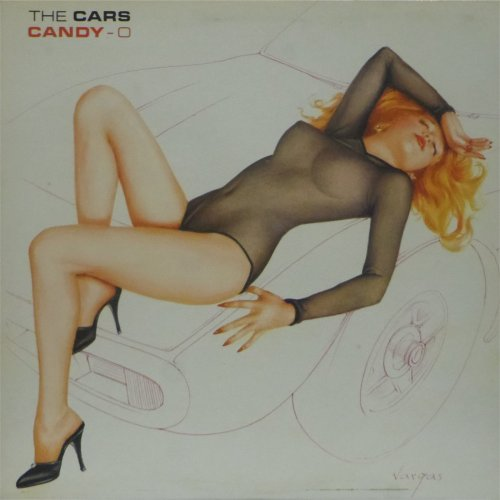 The Cars<br>Candy-O<br>LP (UK pressing)