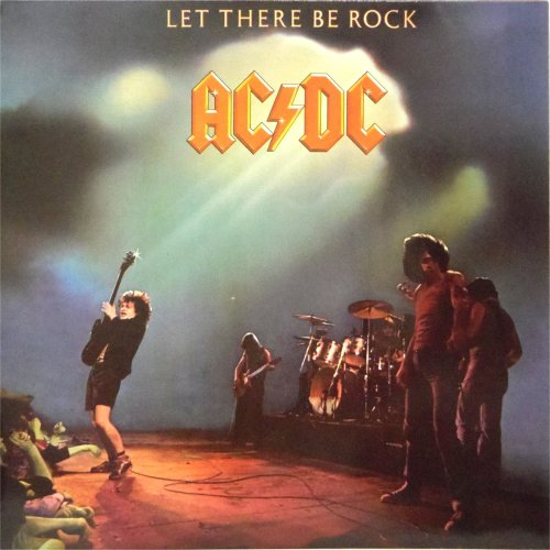 AC/DC<br>Let There Be Rock<br>LP (GERMAN pressing)