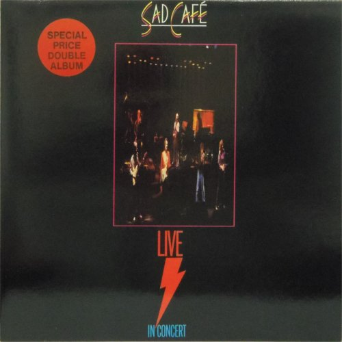 Sad Café<br>Live In Concert<br>Double LP (UK pressing)