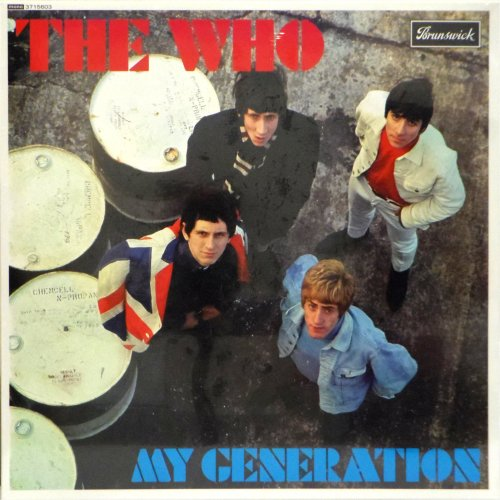 The Who<br>My Generation<br>LP (EU pressing)