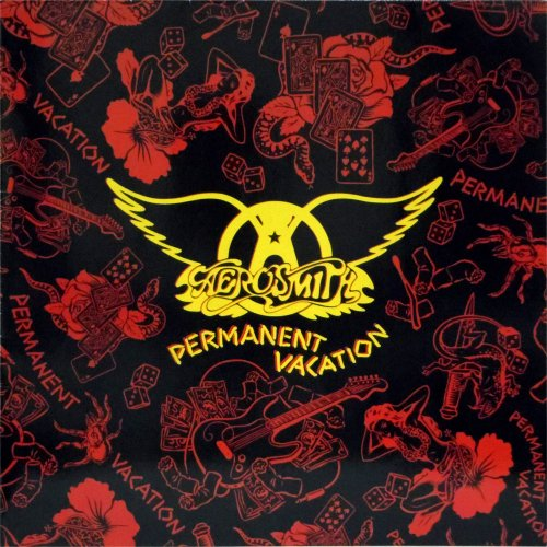 Aerosmith<br>Permament Vacation<br>LP (GERMAN pressing)