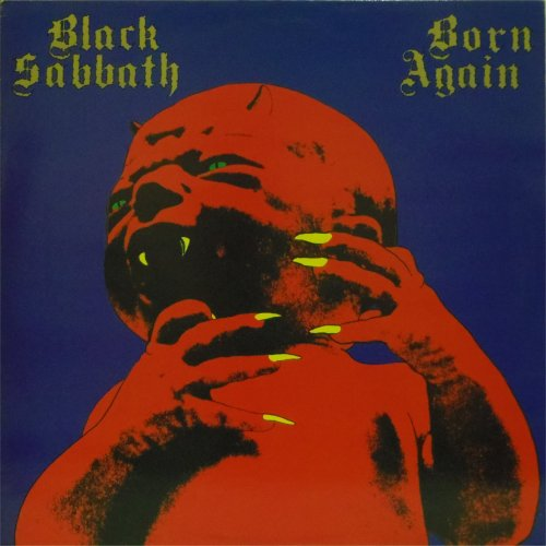 Black Sabbath<br>Born Again<br>LP (UK pressing)