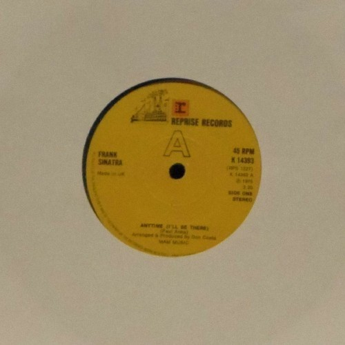 "Frank Sinatra<br>Anytime<br>7"" single"