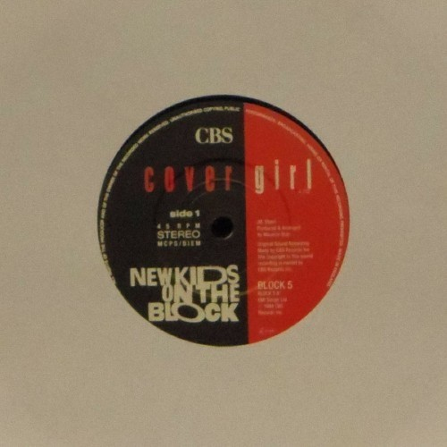 "New Kids On The Block<br>Cover Girl<br>7"" single"