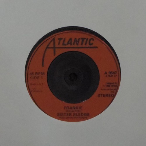 "Sister Sledge<br>Frankie<br>7"" single"