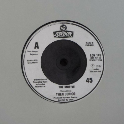 "Then Jerico<br>The Motive<br>7"" single"