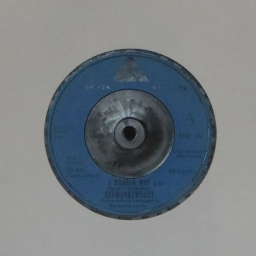 "Showaddywaddy<br>I Wonder Why<br>7"" single"