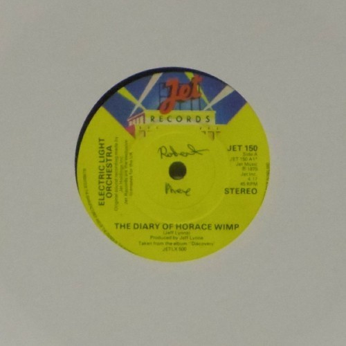"Electric Light Orchestra<br>The Diary Of Horace Wimp<br>7"" single"