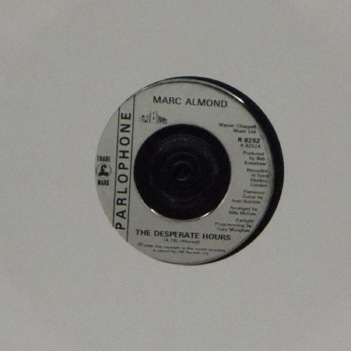 "Marc Almond<br>The Desperate Hours<br>7"" single"